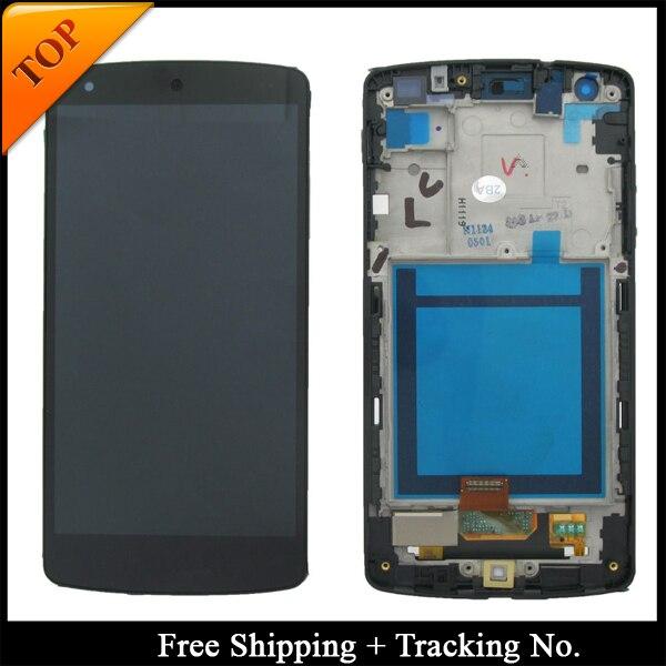 100% נבדק Gurantee עבור LG Google Nexus 5 D820 LCD עבור נקסוס 5 D821 תצוגת LCD מסך מגע Digitizer עצרת