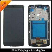 100% ทดสอบรับประกันสำหรับ LG Google Nexus 5 D820 LCD สำหรับ Nexus 5 D821 จอแสดงผล LCD Touch Digitizer Assembly