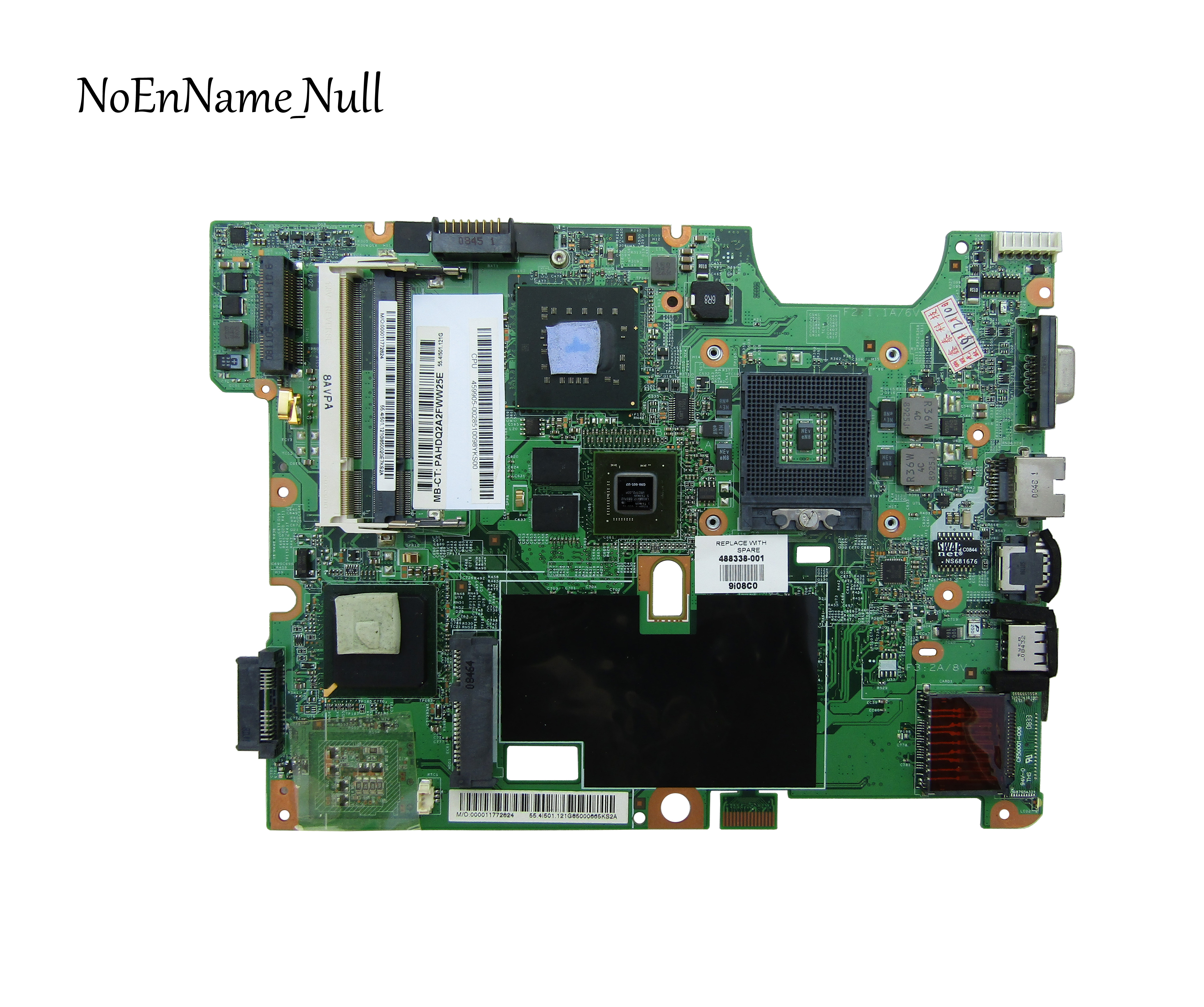 48.4I501.021 488338-001 Free Shipping FOR Hp Compaq CQ60 G60 CQ70 G70 Laptop Motherboard PM45 DDR2 GeForce 9200M