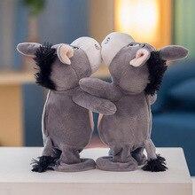 Горячие продажи электричество осел говорящие животные танцы Домашние животные Плюшевые игрушки Дети интеллект музыка куклы