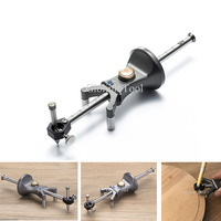 Straight Circular Ccribe Parallel Woodworking Linear Drawing Device Multi functional DIY Scribe Draw Circle Carpenter's TooL