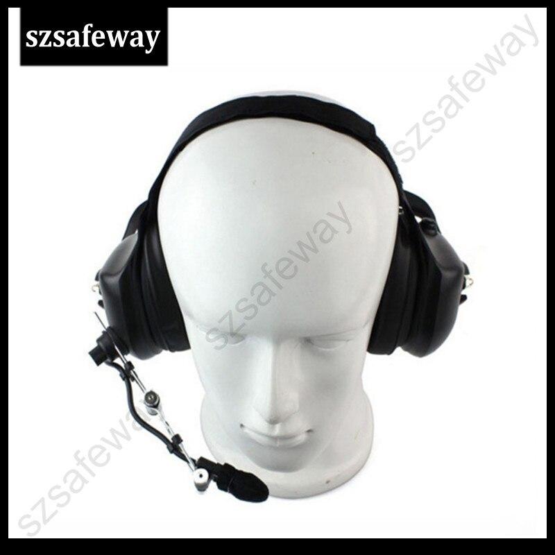 bilder für Heavey duty walkie talkie noise cancelling-kopfhörer für kenwood für baofeng UV-5R 888 S WOUXUN zweiwegradio zwei pins