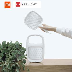Xiaomi Yeelight قاتل الماموس الكهربائي منشة طبقات شبكة الكهربائية المحمولة البعوض القاتل الحشرات ذبابة علة صاعق بعوض القاتل