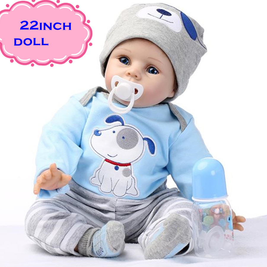 The Latest 22 55cm Silicone Reborn Baby Dolls Best Gift 100 Safe And Lifelike Simulation Baby