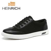 HEINRICH New Luxury Brand Casual Shoes Men Spring New Arrival Lace Up Fashion Sneakers Outdoors Light Shoes Tenis Masculino