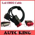 OBDII de 16 pinos LED cabo principal Adequado para o scanner tcs cdp pro plus auto OBD2 16pin cabo obd cabo testes multidiag pro carro