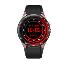 Kingwear KW88 Smart watch 3G nano SIM font b smartwatch b font MT6580 quad core 1
