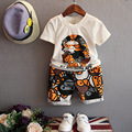 Toddler Boys Clothing Sets Summer 2016 Brand Kids Clothes Boys Outfits Cartoon T-Shirt + Shorts Baby Children Clothing 2-8 Y