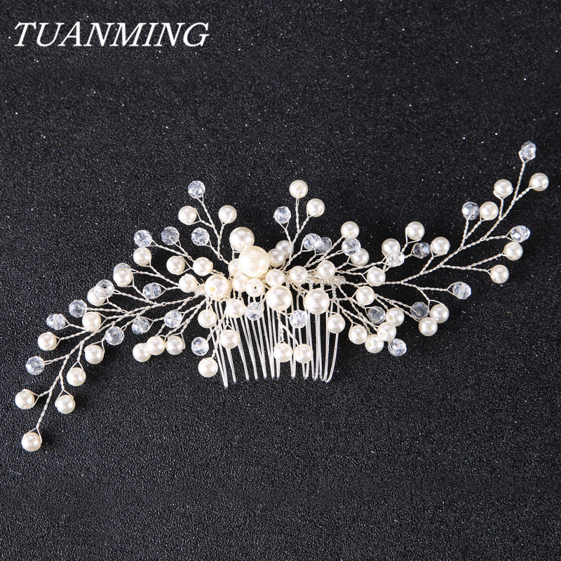 Bridal Hair Combs Ornaments Fashion Hairwear Wedding