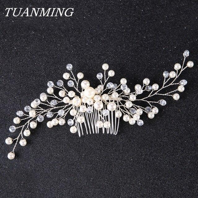 Bridal Hair Combs Ornaments Fashion Hairwear Wedding Hair Accessories Comb for H