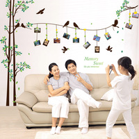 DIY Photo Tree Living Room Decoration Vinyl Wall Stickers Sweet Memory Quotes Decals Poster Home Decor