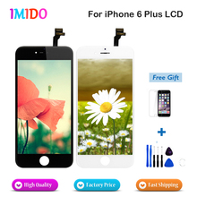 5PCS/LOT AAA Quality display For iPhone 6 plus LCD Display 5.5 inch touch screen with digitizer assembly Fast ship used ltm215hl01 21 5 inch lcd display panel for 2205 c205 all in one pc 1 year warranty fast ship
