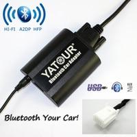 Yatour Bluetooth Car Adapter YT-BTA Dla toyota rav4 corolla camry/Lexus mała wtyczka serii 03-12 AUX IN A2DP HI-FI USB Charge