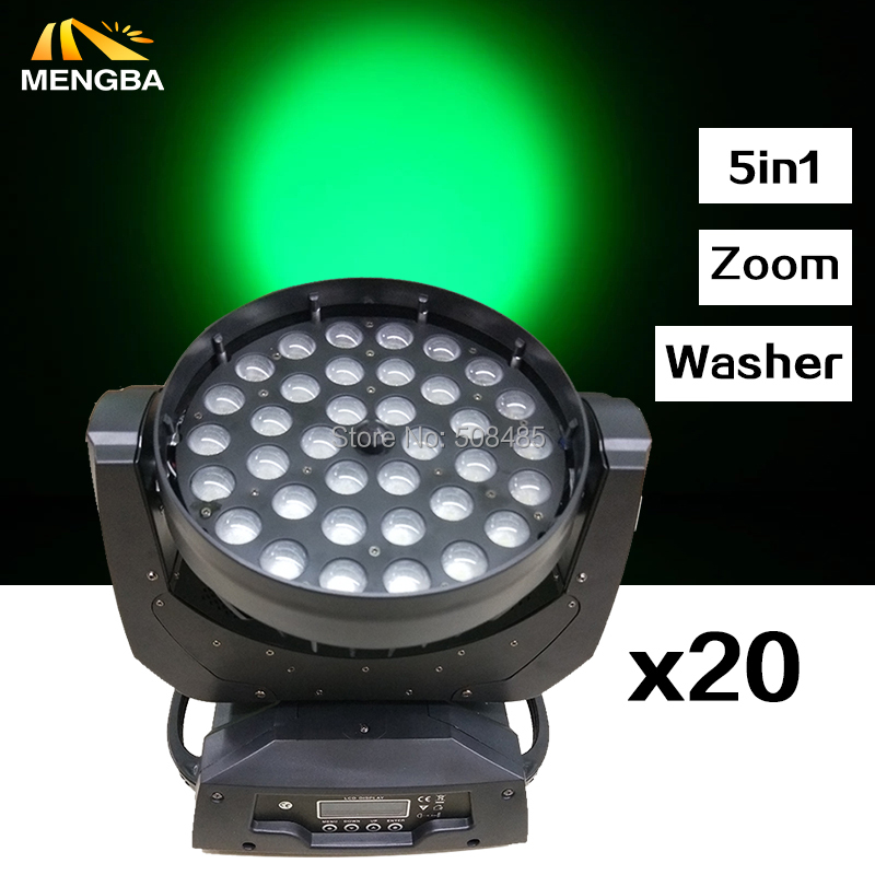 20pcs/lot 36X15W RGBWA 5IN1LED Wash Zoom Moving Head Light DMX Controller Stage Lighting 20pcs lot mdd2601 to252