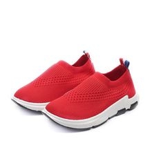 2018New Fashion Childrens Sport Shoes Spring Autumn Boys Girls Breathable Kid Comfortable Flat High-quality Anti-slip