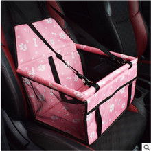 Pet Dog Carrier Car-Carrying Car Rear Back Seat Pad Safe Carry House Cat Puppy Bag Travel Basket Cushion Mat