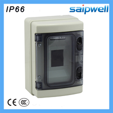 208*140*95mm 4 way ABS AC waterproof Distribution Box enclosures for electronics SHA-4