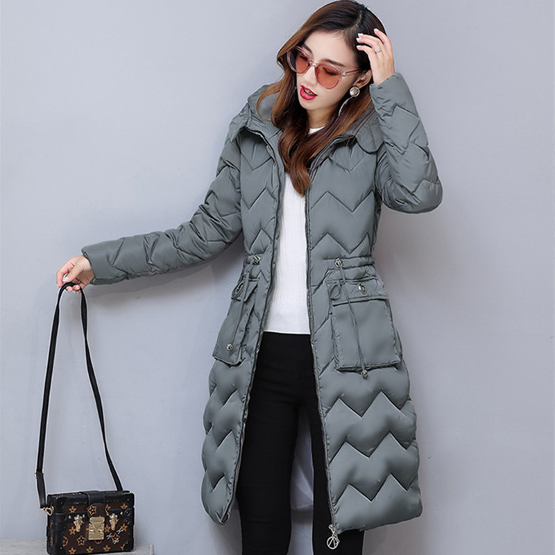 Winter Jacket New Fashion Women Jacket Slim Plus Size Hooded Jacket Students Femme Thick Warm Cotton Outwear Parkas MZ1845 bishe 2017 new thick femme outwear cotton winter jacket plus size parkas female parkas for women winter warm coat woman clothes
