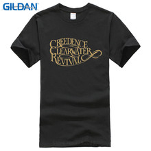 T Shirts Cheap O-Neck Graphic Short Sleeve Rude Creedence Camiseta Eeuu Southern 1970  For Men