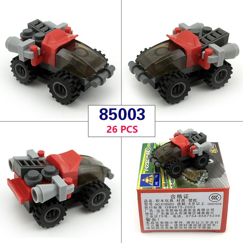 14 Styles Car/Missile Truck Building Blocks friends mini Educational Toys figure for kid War Compatible With legoingly City Gift