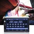 América do sul 7 polegada 2 Din tela de toque Do Bluetooth Entrada Mp5 HD Tela de Toque Do GPS Do Carro Do Bluetooth Microfone Suporte GPS navegação