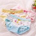 5 pçs/lote moda infantil calcinhas das meninas roupa interior encantador dos desenhos animados crianças calcinhas cuecas criança do sexo feminino roupas frete grátis