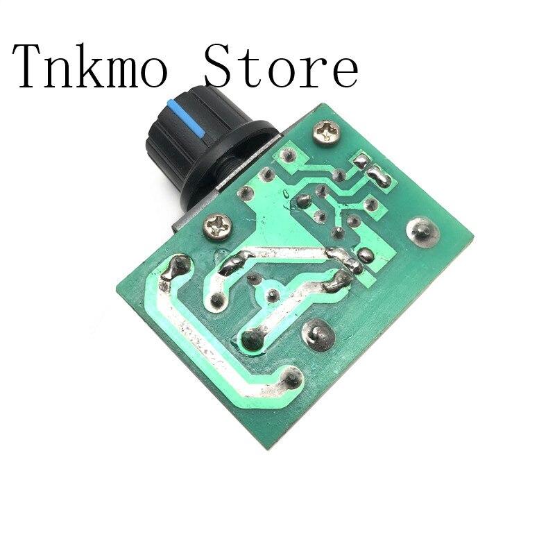 1 Stücke Ac 220 V 2000 Watt Scr Spannung Regler Dimmen Dimmer Speed Controller Thermostat