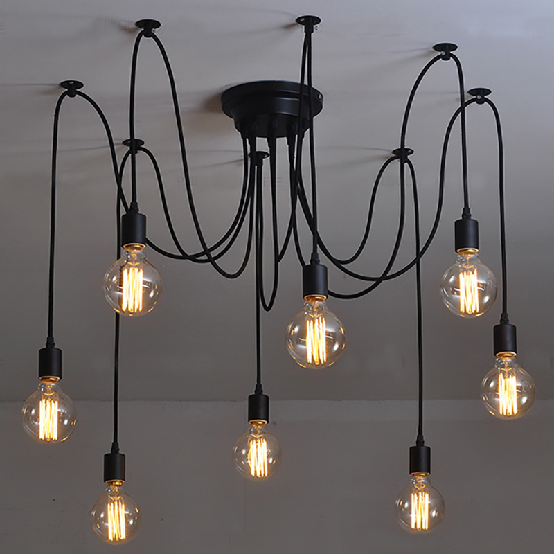 Nomsun modern chandelier lamp black lustre chandeliers light dining nomsun modern chandelier lamp black lustre chandeliers light dining living room decoration chandeliers lighting online shopping malaysia free delivery aloadofball Image collections