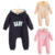 Bebê menino roupas romper bebê recém-nascido macacão macacão de inverno roupas roupas de bebe infantil Bebê menina rosa com zíper de uma peça