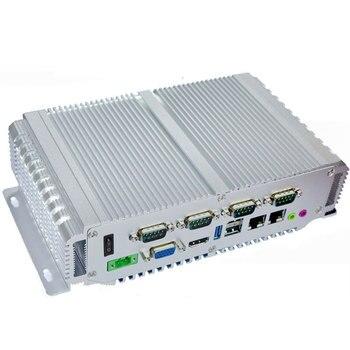 Faneless Barebone Home Server Linux Industrial Ultra Low Power Desktop 12V X86 Ubuntu Mini PC