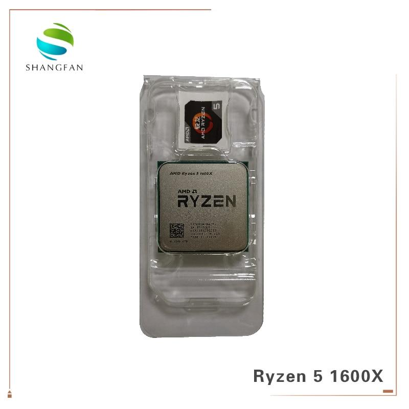 Image 3 - New AMD CPU Process Ryzen 5 1600X R5 1600X 3.6 GHz Six Core Twelve Thread CPU Processor 95W L3=16M YD160XBCM6IAE Socket AM4-in CPUs from Computer & Office