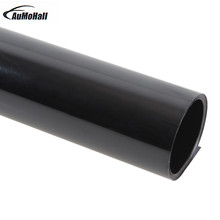 цены 0.5*3m Dark Black Car Window Film Foils Solar Protection Car Sticker for  Auto Window Side Window Solar Protection