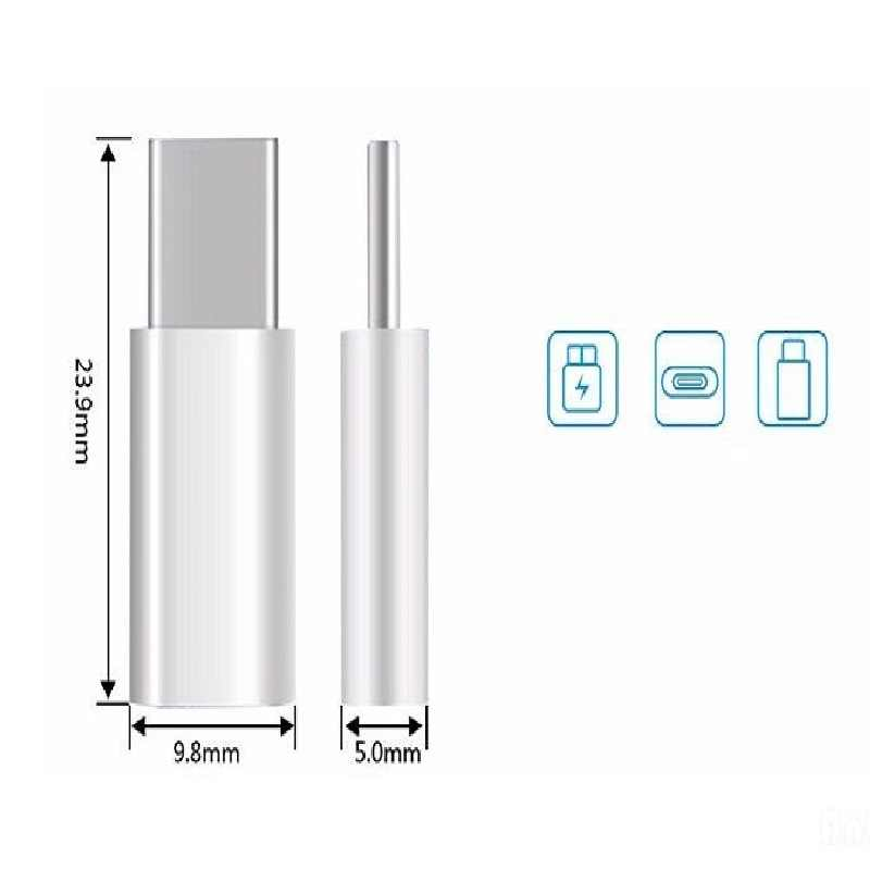 Micro USB-type C Конвертер оригинальный type-C кабель для зарядки и передачи данных адаптер быстрое зарядное устройство P20 pro P 20 P10 P9 lite mate 9 10