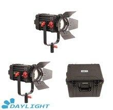 2 Pcs CAME TV Boltzen 100w Fresnel Focusable LED Daylight Kit
