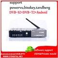 A8 más la caja androide t2 del dvb s2 dvb-c set top box android A8 Receptor de satélite vs cccc vs v8 v8 de oro ángel k1 plus s2 t2