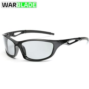 a28cd24a85 Deportes gafas de sol polarizadas ciclismo gafas fotocrómico ciclismo gafas  UV400 hombres mujeres pesca corriendo Eyewear fietsbril