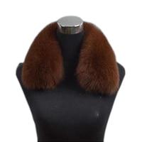 2019 new Fur scarf fox fur collar men and women side collar winter fox fur collar warm collar