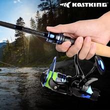 KastKing Pontus 9+1 Ball Bearings Rear Drag Dual Stopping System 9KG Max Drag Power Freshwater Carp Bass Spinning Fishing Reel