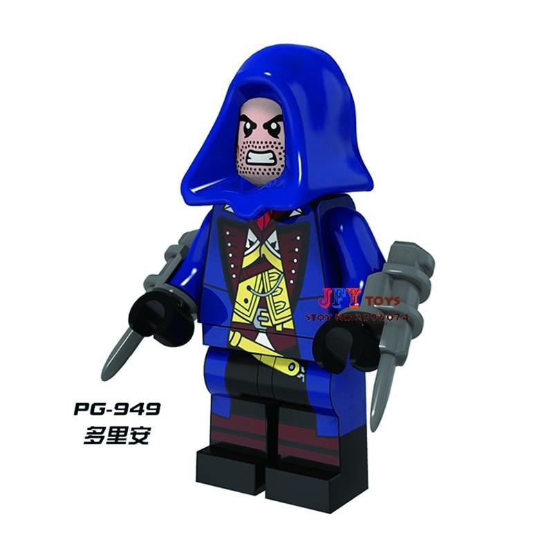 Single Sale star wars superhero Assassins Creed Dorian movie building blocks model bricks toys for children brinquedos menino