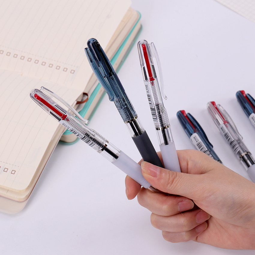 0.7mm Novelty Pen Writing Supplies 2 In1 Plastic Ballpoint Pen New Gift School Office Stationery