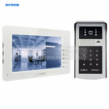 Sale DIYSECUR 1024 x 600 7 inch HD TFT Color LCD Monitor Video Door Phone Video Intercom Doorbell 300000 Pixels Night Vision Camera