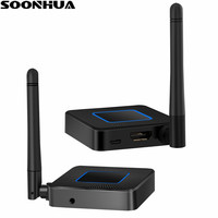SOONHUA Q4 Miracast TV Stick Dongle 2.4G/5G HD 1080P HDMI WiFi Media Display Receiver Miracast For Google Chromecast Android TV