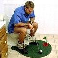 New Potty Putter Toilet Golf/basketball slam dunk/football Game Mini Sports Set Novelty Game For Men and Women Toilet Toys