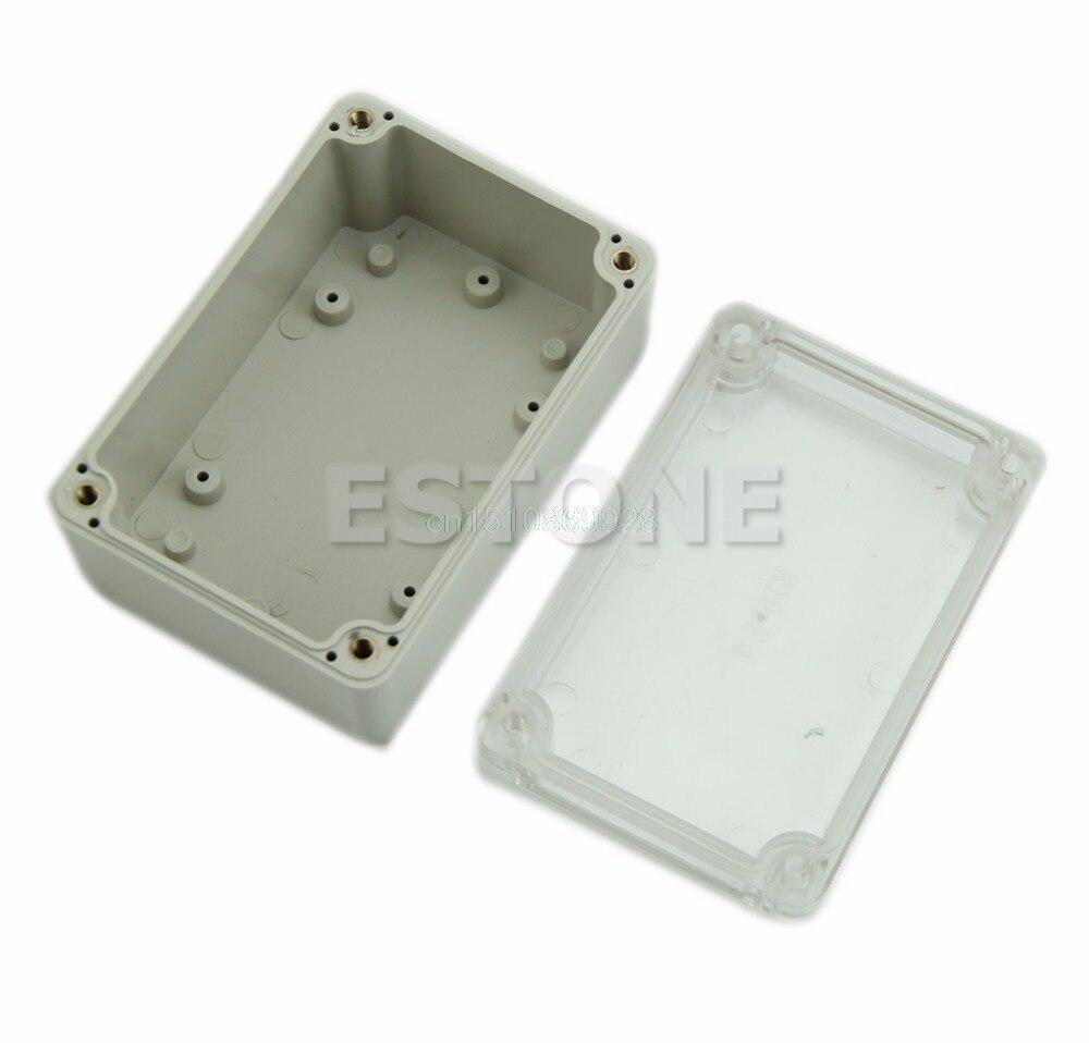 1vnt vandeniui skaidrus dangtis, plastikinis elektroninis projekto - Matavimo prietaisai - Nuotrauka 2