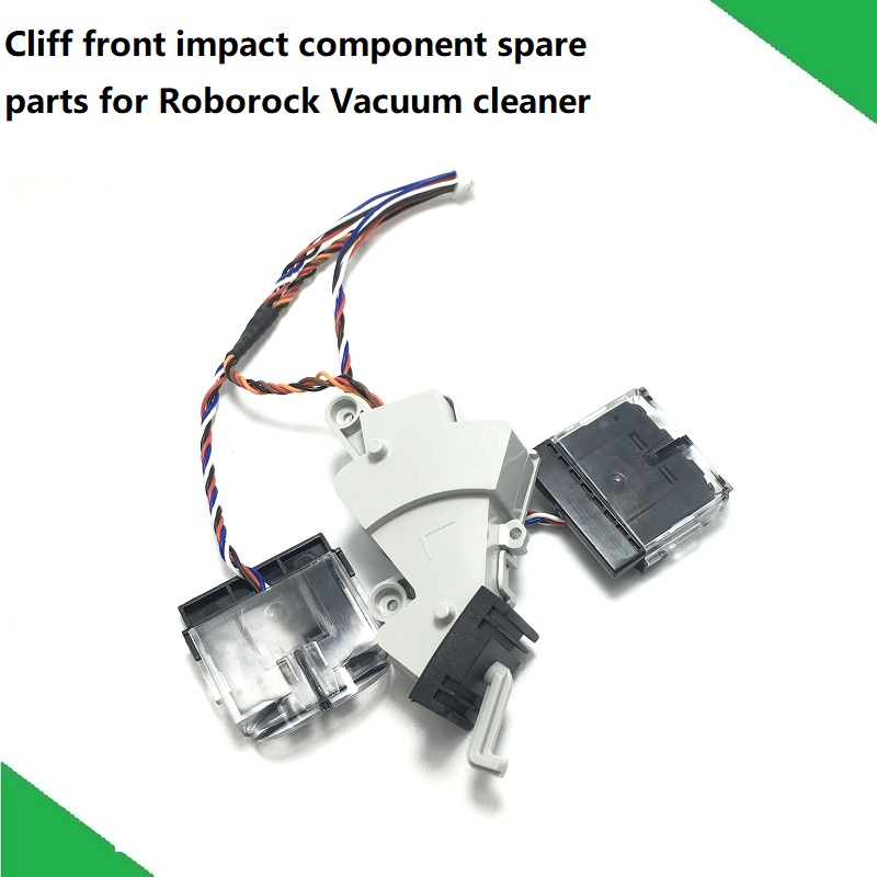 New Cliff Sensor Front Impact Component  for Xiaomi Vacuum Cleaner Roborock S50 S51 S53 S55 Assembly Spare Parts-in Vacuum Cleaner Parts from Home Appliances