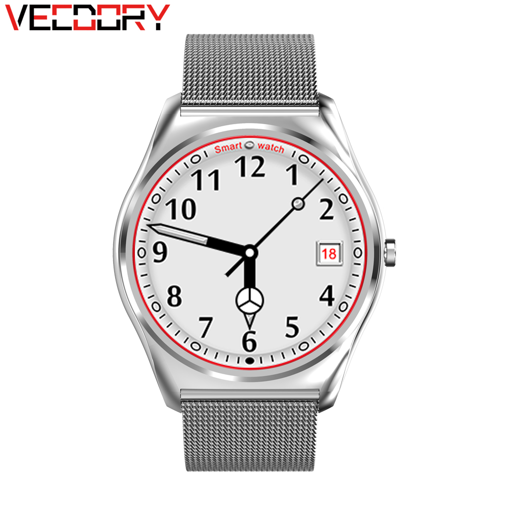 Vecdory Smartwatch N3 With Heart Rate Monitor Bluetooth Smart Watch Wireless Charging Call Fitness Smart Watches For IOS Android