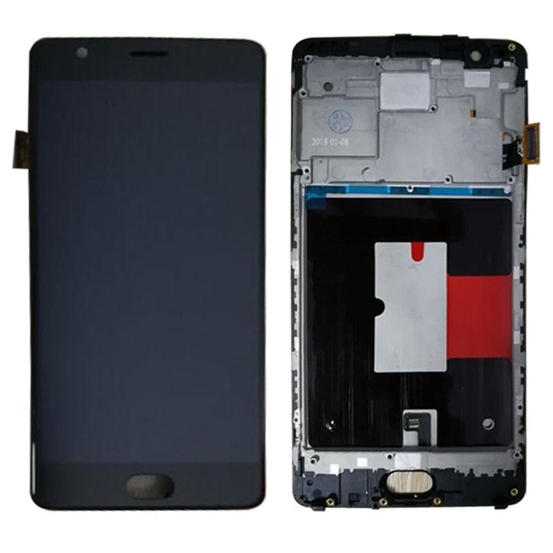 SzHAIyu 5.5 pouce LCD Affichage Pour Oneplus 3 A3000 A3003 Écran Tactile avec cadre et Outils gratuits