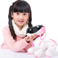 Birthday Gifts Intelligent Robot Puppy Smart Dog Walking Bump Go Singing Music Electronic Pets Toys For
