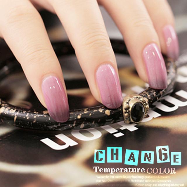 Gel Len Nail Polish UV Nail Gel Polish Long lasting Soak off Gel Varnish Temperature Color Changing Nail Gel Lacquer