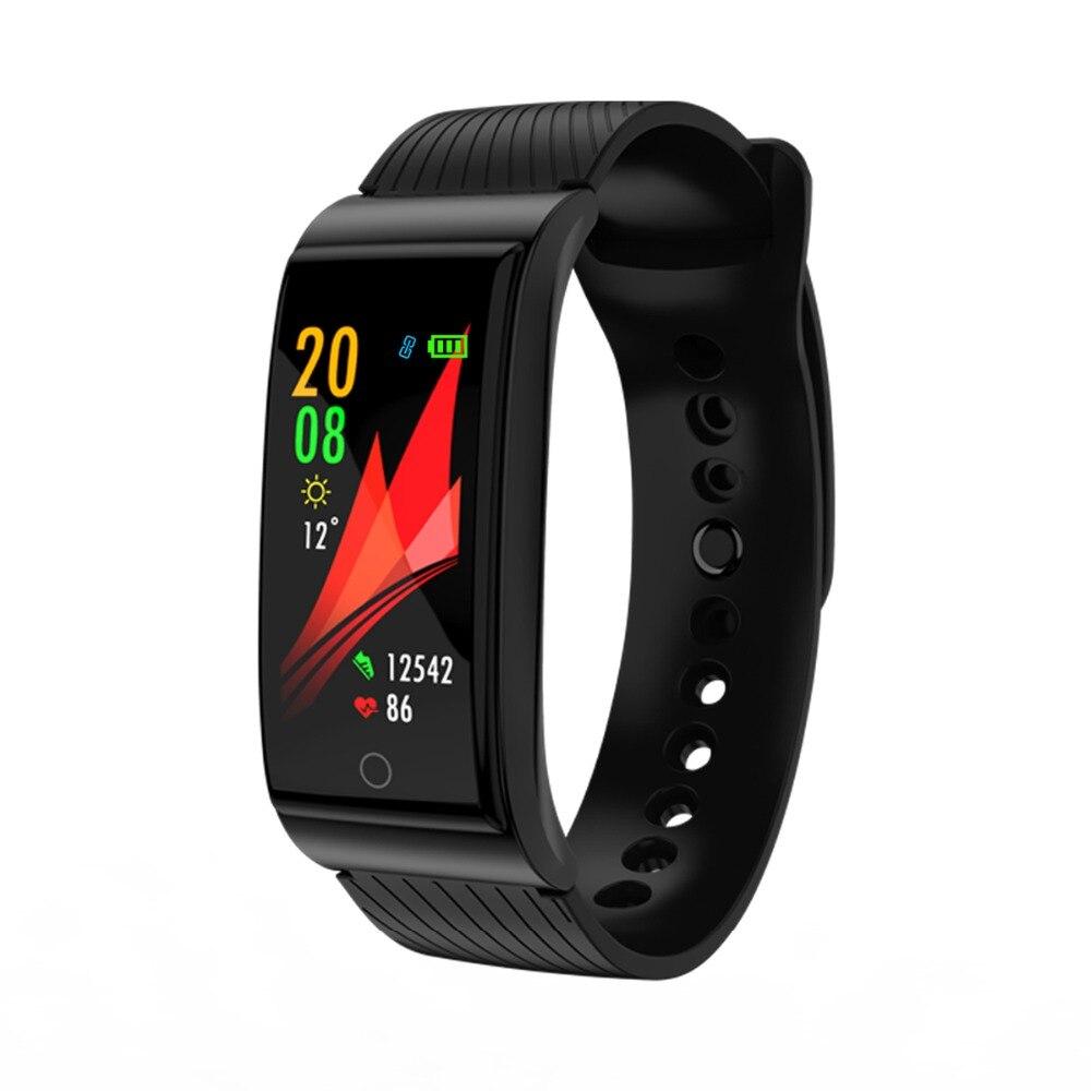 Multi-sport Bracelet intelligent pression artérielle Fitness Bracelet podomètre activité Tracker montre intelligente pour IOS Android téléphone intelligent